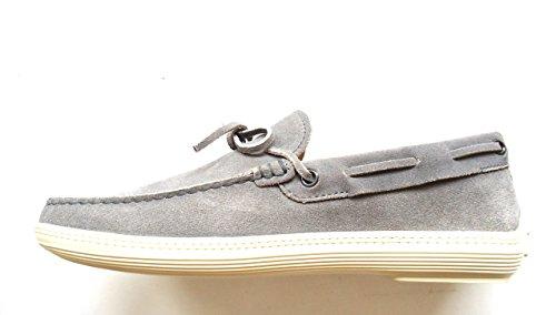 Mocassini TOD'S LACCETTO MARLIN scarpe uomo loafer shoes men [6] 40 XXM0MA00050KONB405 grigio