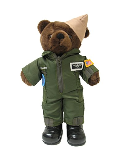 Teddy Navy Bear (Accented Apparel N More Stuffed 10