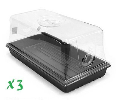Clone Tray  Tray And Dome Kit   Pack Of 3