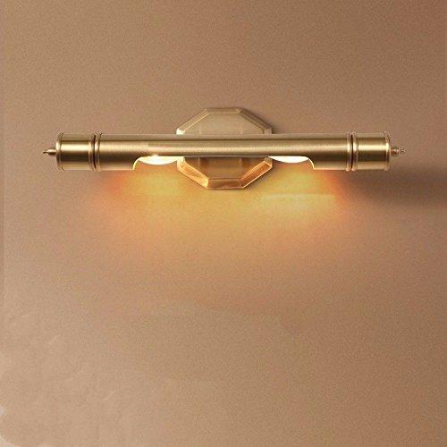 Wall lamp Bracket Light Sconces Copper American Country Copper Mirror Headlights Bathroom Bathroom Minimalist Makeup Desk Mirror Retro B