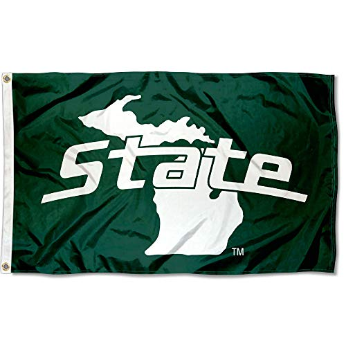 College Flags and Banners Co. Michigan State Spartans MI State Design Flag