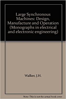 \\TXT\\ Large Synchronous Machines: Design, Manufacture And Operation (Monographs In Electrical And Electronic Engineering). sector Contact released Attune mensahe vendedor dentro busqueda