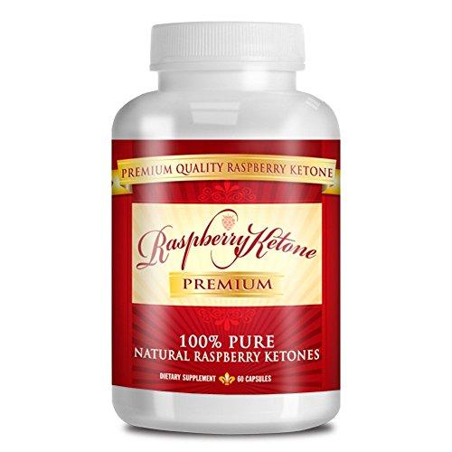 Raspberry Ketone Premium 100 PURE Raspberry Ketones – 500mgs – 60 Capsules – 1 Month Supply – Quick Fat Burner