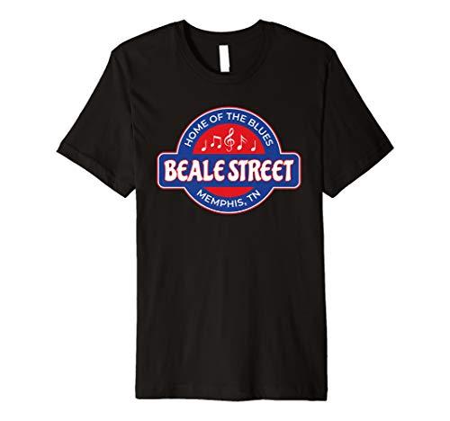 (Memphis Beale Street Shirt TN Blues Music Gift Premium T-Shirt )
