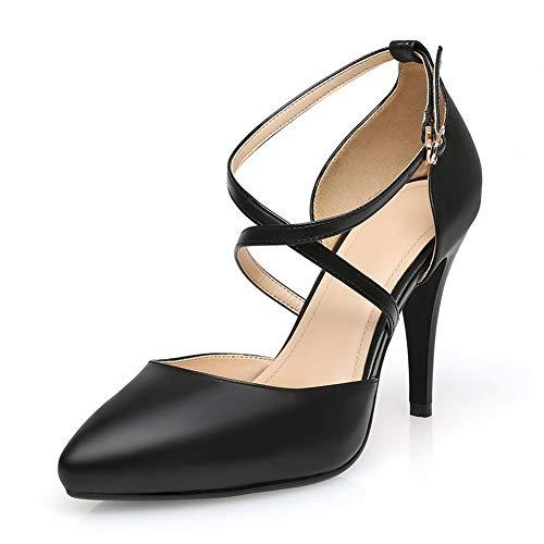 EU Compensées AdeeSu 5 Noir 36 Femme SDC06028 Sandales Noir wgv7q8
