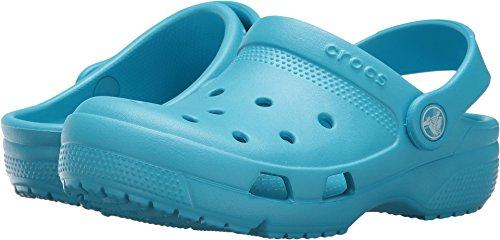 Crocs Kids Unisex Coast Clog (Toddler/Little Kid) Electric Blue 3 M US Little Kid - Footwear Electric
