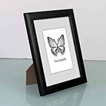 Solid wood photo frame Set up simple photo frame D 10.2x15.3cm(4x6inch)
