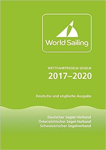 Frontcover Wettfahrtregeln 2017 - 2020