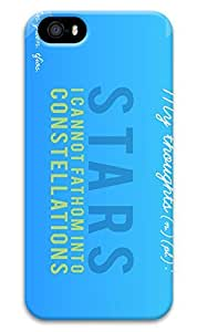 Online Designs fault in our stars on a blue background PC Hard new case