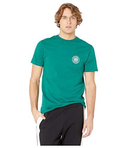 Vans Off The Wall Men's Graphic T-Shirt (Green Checker, L)