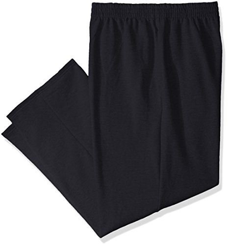 - Fruit of the Loom Men's Pocketed Open-Bottom Sweatpants (2 Pack), Black, Large