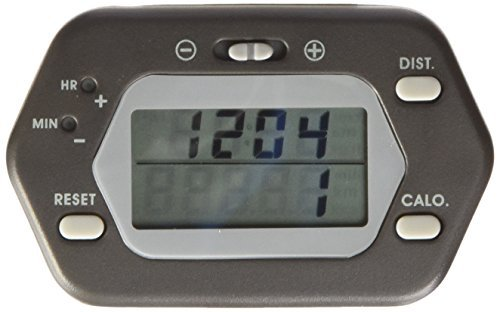 High Gear Pe318 Pedometer (Steps, Distance and Calories) High Accuracy Pedometers by Heart Rate Monitors (Pedometer Gear High)