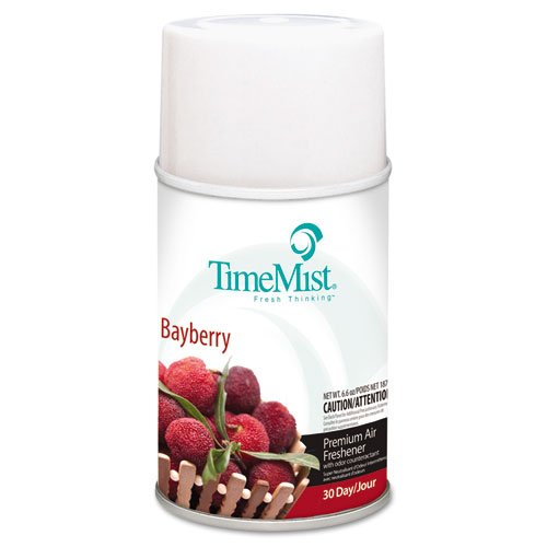 TimeMist Metered Fragrance Dispenser Refills, Bayberry, 6.6 oz - Includes 12 per case.
