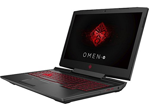 "HP OMEN 17-AN012DX 17.3"" Gaming Laptop, Intel i7-7700HQ Quad-Core 2.80GHz, AMD Radeon RX580 8GB, 12GB DDR4, 1TB SATA, 802.11ac, W10H (Certified Refurbished)"