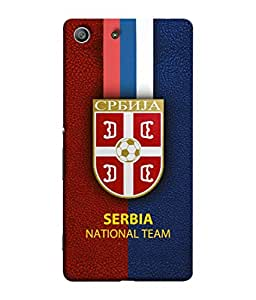 ColorKing Football Serbia 10 Multi Color shell case cover for Sony Xperia Z3