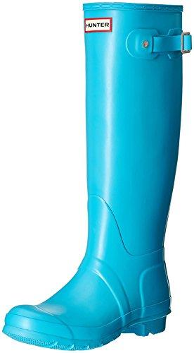 Hunter Stivale In Gomma Womens Org Tall Azzurro EU 38 (UK 5)