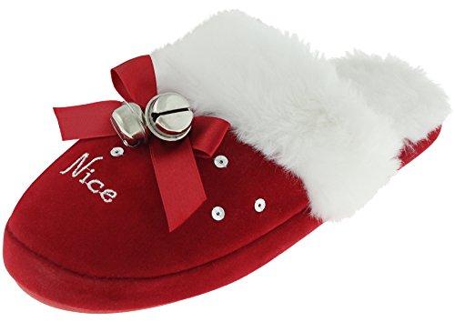 Capelli New York Ladies Orsacchiotto Sborro Fiocco Rosso