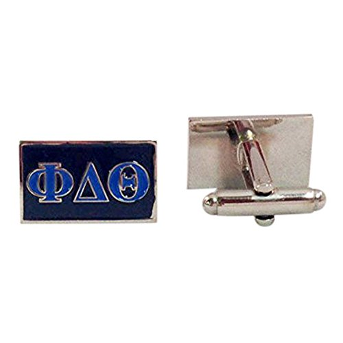 (Phi Delta Theta Fraternity Letter Cufflinks Greek Formal Wear Phi Delt)