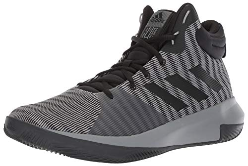 best sneakers e8ac2 f603d Galleon - Adidas Men s Pro Elevate 2018 Basketball Shoe, Black Grey, 8 M US
