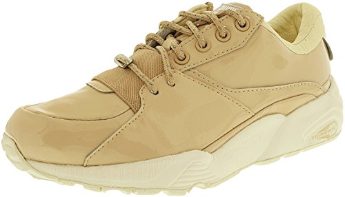 Puma Women's R698 Patent Nude Ankle-High Fashion Sneaker Natural Vachetta