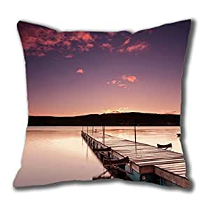 Beautiful Wharf Cotton Square Pillow Case You Like Best