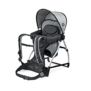 The Chicco Smart support backpack is the smarter way to carry growing children. A multi-position seat provides adjustable support and a padded backrest and 5-point harness offer comfort and security. Plus, an adjustable canopy supplies shade from the...