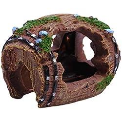 Zeroyoyo Crawler Box Reptile Hide Cave Reptile House