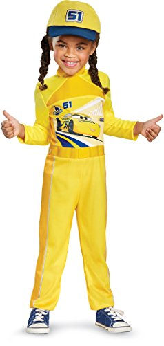 Cars 3 Cruz Classic Toddler Costume, Yellow, Large (4-6X) ()