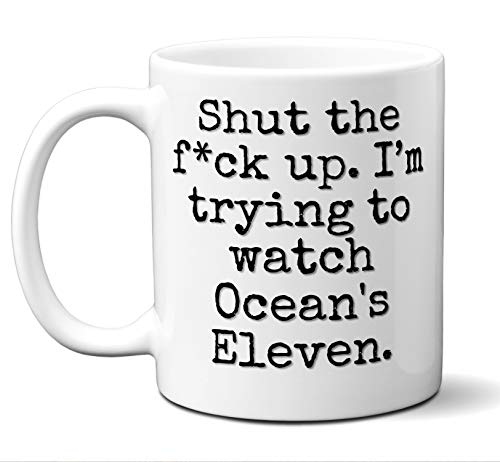 Ocean's Eleven Gift Mug. Funny Parody Movie Lover Fan