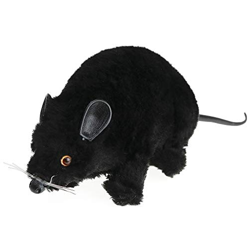 Skeleteen Realistic Black Prank Rat - Real Looking for sale  Delivered anywhere in USA