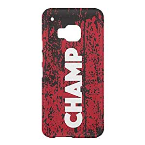 Loud Universe HTC One M9 Champ Print 3D Wrap Around Case - Multi Color