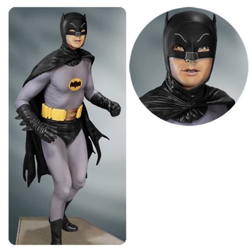 Batman Adam West Costume (Batman 1966 TV Series Batman Black Variant Maquette Statue)