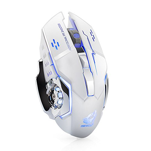 - Geetobby Mechanical Wired/Wireless Gaming Mouse, Portable Design 6/7 Buttons 1600/3200DPI Mice for Computer Desktop
