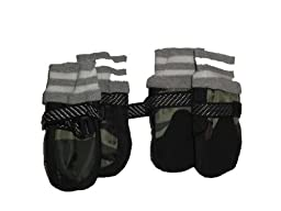 Pet Life DPF09703 Paw Tectors All Performance Dog Boots, Size 1, Camouflage