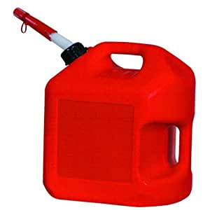 Midwest Can 5600-4PK Gas Can - 5 Gallon Capacity, (Pack of 4)