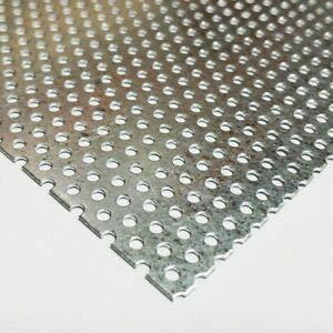 (JumpingBolt Galvanized Steel Perforated Sheet .034