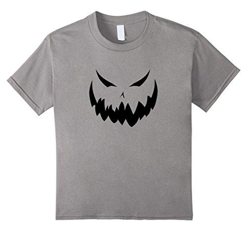 Kids Jack O Lantern - Easy Halloween Costume Idea - Tee Shirt 4 Slate (4 Halloween Costume Ideas)
