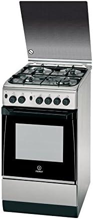 Indesit KN1G21S(X)/UA - Cocina (Cocina independiente, Acero ...