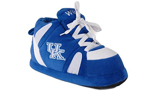 KEN01-1 - Kentucky Wildcats - Small - Happy Feet Men's and Womens NCAA Slippers