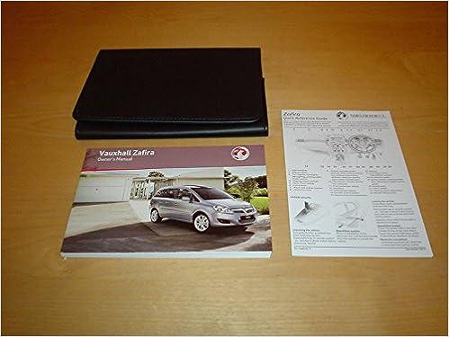vauxhall zafira handbook manual