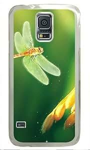 Animal Background Samsung Galaxy S5 Transparent Sides Hard Shell Case by Sakuraelieechyan
