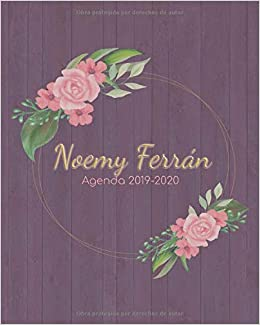 Noemy Ferrán. Agenga 2019-2020: Hermosa ... - Amazon.com