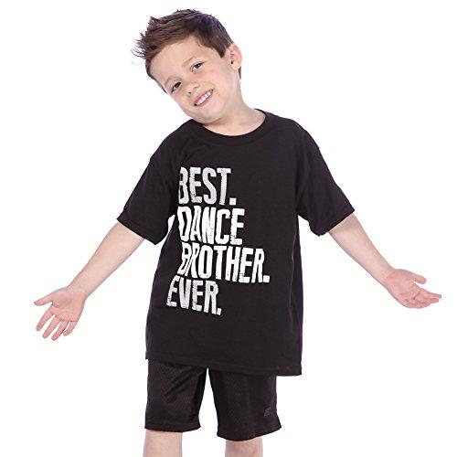 Just For Kix Best Dance Brother Ever T-Shirt Black Medium