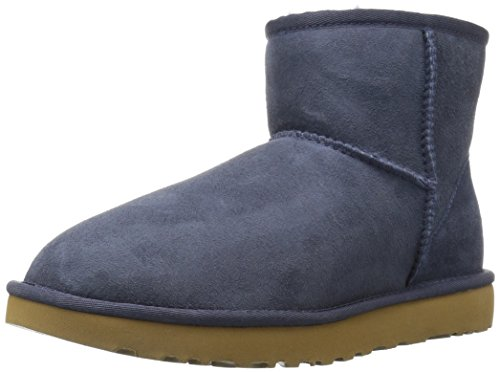 Blue Bailey Bow Ugg Boots - UGG Women's Classic Mini II Winter
