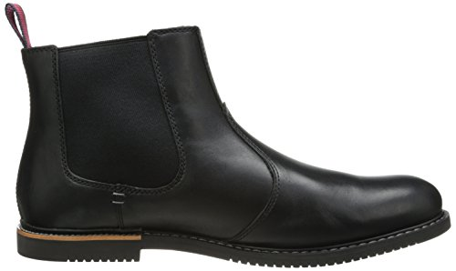 Timberland Mens EK Brook Park Chelsea Boot Black Smooth X0CY4HD