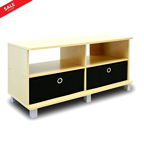 Tv Console Table with Storage Drawers 40
