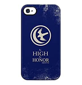 Game Of Thrones As High As Honor House Arryn Crow Hard Plastic Phone Case Cover Shell For iPhone 4 & iPhone 4s