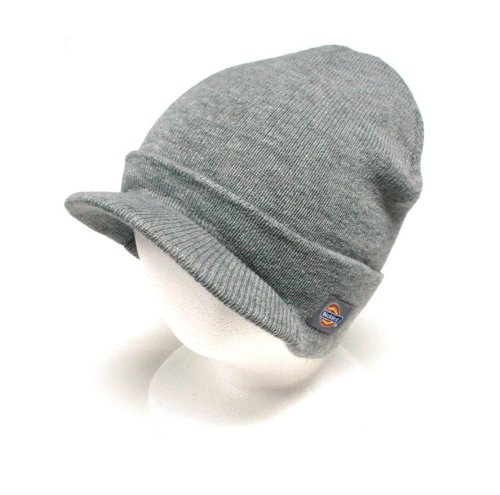 Dickies Men's Jeep Radar Knit Hat, Grey, One Size