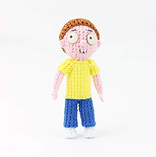 Rick & Morty Crochet Pattern-CGCT-105264 | 500x499