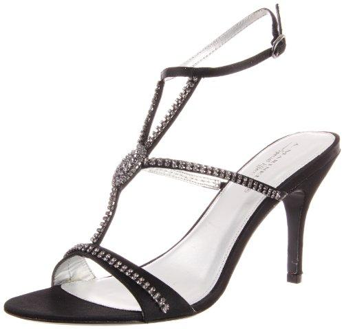 Une. Marinelli Womens Regal Cheville Sandale Noir
